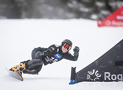 Bykova Milena during the FIS snowboarding world cup race in Rogla (SI / SLO) | GS on January 20, 2018, in Jasna Ski slope, Rogla, Slovenia. Photo by Urban Meglic / Sportida