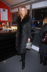 PENNY LANCASTER at a Winter Party to celebrate the opening of the Ice Rink at Somerset House, London in association with jewellers Tiffany on 20th November 2007.<br />