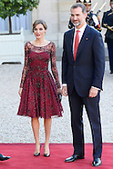 060215 Spanish Royals visit France - Day 1