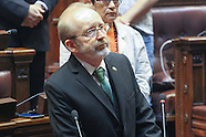 Eduardo Turell juramento en el Parlamento