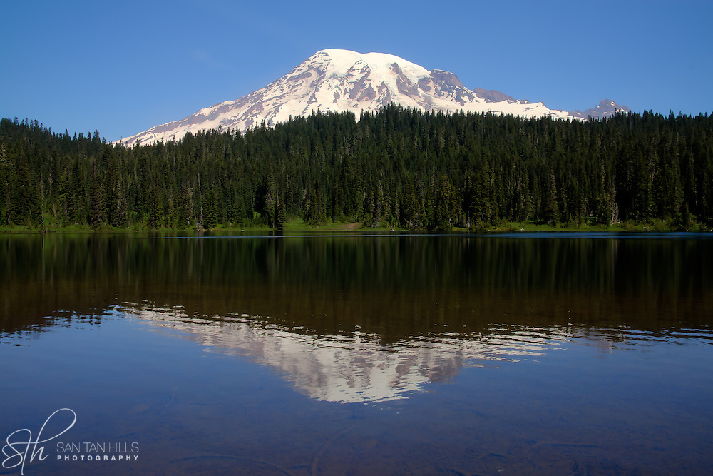 Reflection Lakes - Mount Rainier National Park, WA