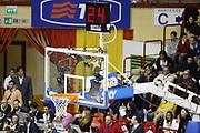 DESCRIZIONE : Forli Lega A1 2005-06 Coppa Italia Final Eight Tim Cup Montepaschi Siena Lottomatica Virtus Roma<br /> GIOCATORE : Pallone Curiosita<br /> SQUADRA : <br /> EVENTO : Campionato Lega A1 2005-2006 Coppa Italia Final Eight Tim Cup Semifinale<br /> GARA : Montepaschi Siena Lottomatica Virtus Roma<br /> DATA : 18/02/2006<br /> CATEGORIA : Curiosita<br /> SPORT : Pallacanestro<br /> AUTORE : Agenzia Ciamillo-Castoria/G.Cottini