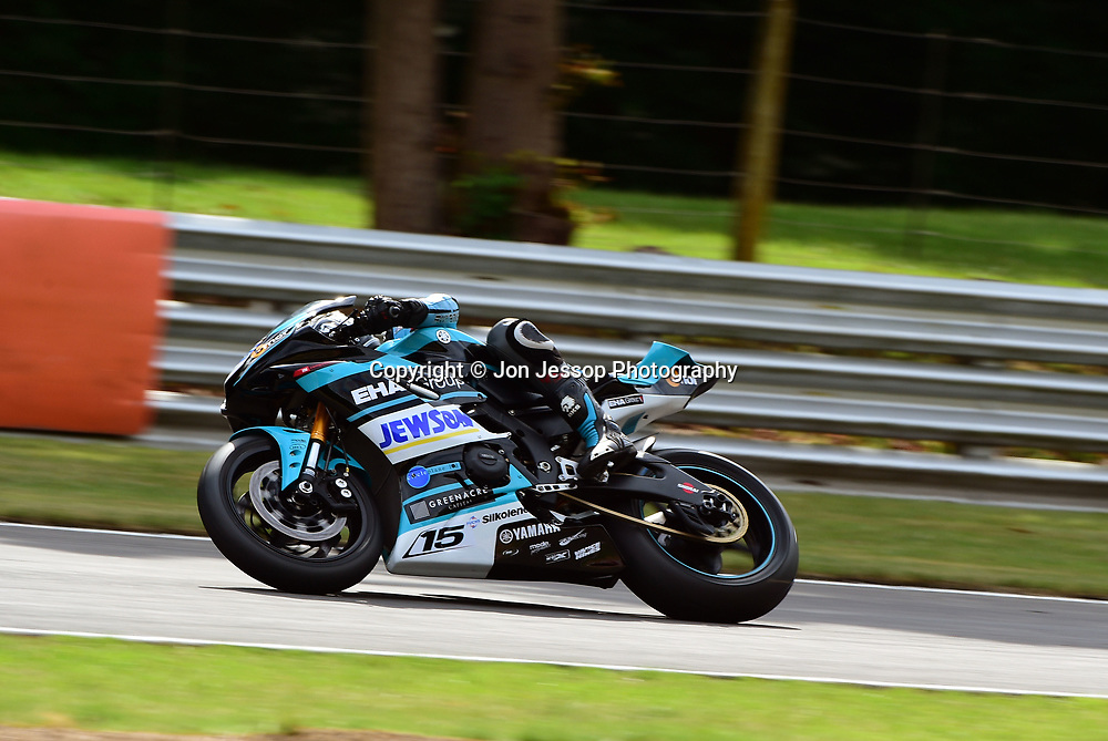 #15 Ross Twyman Canterbury EHA Racing Yamaha 600  Dickies British Supersport Championship