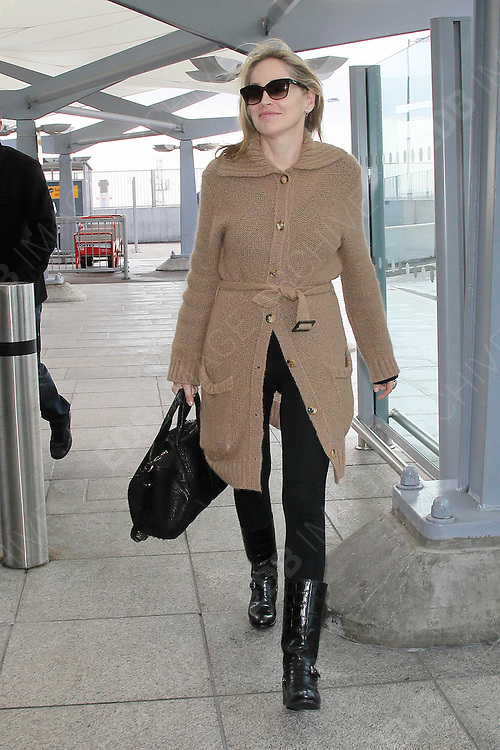 31.MARCH.2011. LONDON<br /> <br /> ACTRESS SHARON STONE DEPARTS FROM LONDON HEATHROW AIRPORT.<br /> <br /> BYLINE: EDBIMAGEARCHIVE.COM<br /> <br /> *THIS IMAGE IS STRICTLY FOR UK NEWSPAPERS AND MAGAZINES ONLY*<br /> *FOR WORLD WIDE SALES AND WEB USE PLEASE CONTACT EDBIMAGEARCHIVE - 0208 954 5968*