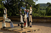 Mollie Dent-Brocklehurst and Vanity Fair host  the opening of 'Vertigo'  a mixed art exhibition at Sudeley Castle. Winchombe, Gloucestershire. 18 June 2005.