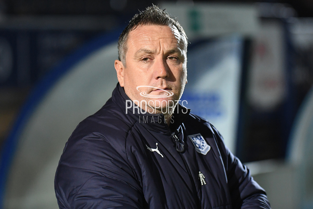 Tranmere Rovers manager Micky Mellon during the The FA Cup match between Wycombe Wanderers and Tranmere Rovers at Adams Park, High Wycombe, England on 20 November 2019.