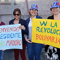 Manifestazione per Maduro