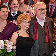 NLD/Amsterdam/20121007- Premiere Aspects of Love, cast, Ernst Daniël Smid, René van Kooten, .Lone van Roosendaal, Michelle van de Ven, Maaike Widdershoven