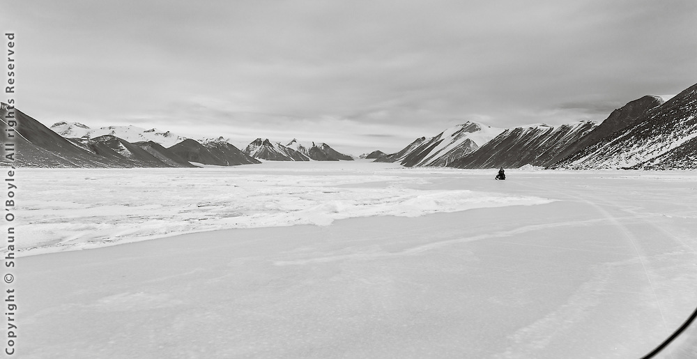 Toward the Ferrar Glacier