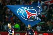 Paris Saint Germain's Brazilian forward Neymar Jr walks during the French championship L1 football match between Paris Saint-Germain (PSG) and Saint-Etienne (ASSE), on August 25, 2017 at the Parc des Princes in Paris, France - Photo Benjamin Cremel / ProSportsImages / DPPI