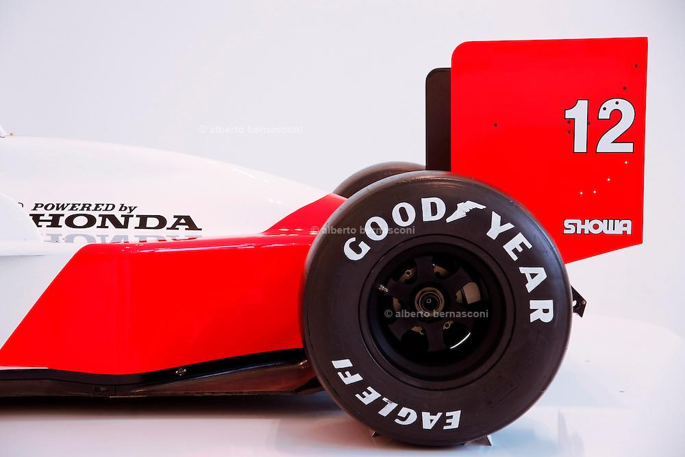 Medena, Casa Museo Enzo Ferrari. Ayrton Senna's car , Modena