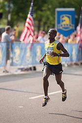 Boston Athletic Association 10K road race: Daniel Salel