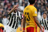 05.11.2017 - Torino - Serie A 2017/18 - 12a giornata  -  Juventus-Benevento nella  foto: Gonzalo Higuain  esulta dopo il gol dell' 1 a 1
