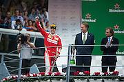 September 4, 2016: Sebastian Vettel (GER), Ferrari , Italian Grand Prix at Monza