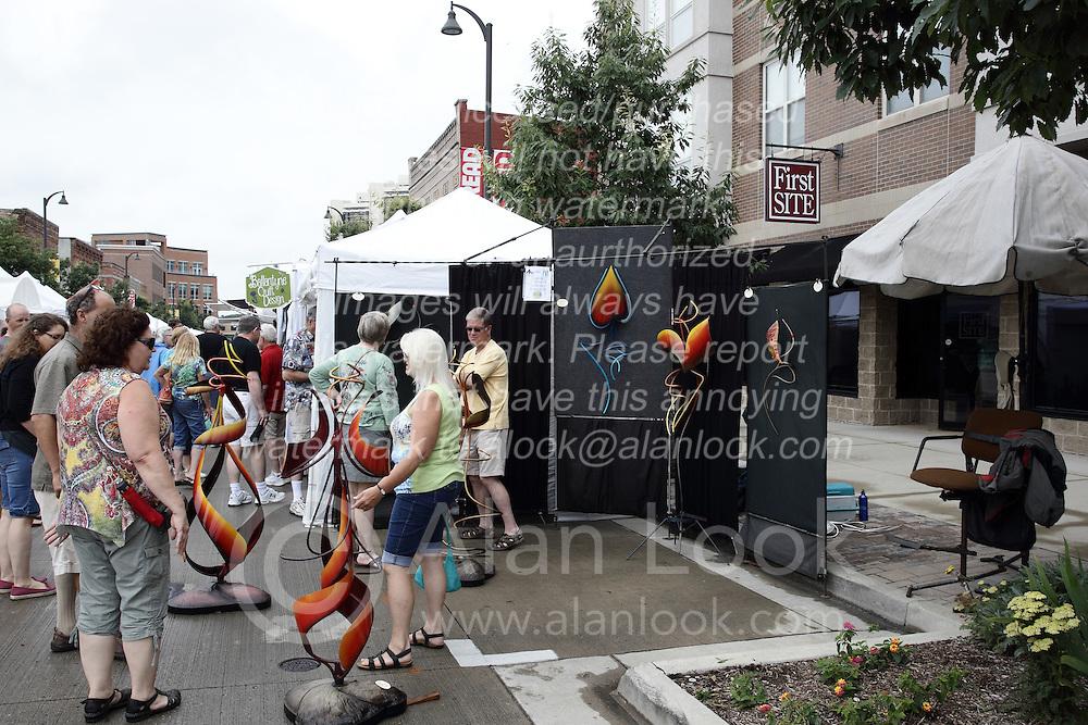 11 July 2015:   2015 Sugar Creek Arts Festival in Uptown Normal Illinois