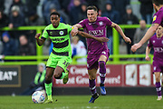 Forest Green Rovers Reece Brown(10) runs forward during the EFL Sky Bet League 2 match between Forest Green Rovers and Carlisle United at the New Lawn, Forest Green, United Kingdom on 16 March 2019.