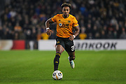 Adama Traore of Wolverhampton Wanderers during the Europa League match between Wolverhampton Wanderers and Slovan Bratislava at Molineux, Wolverhampton, England on 7 November 2019.