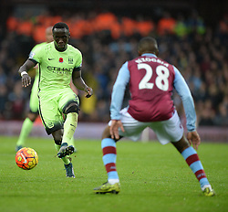 Bacary Sagna of Manchester City - Mandatory byline: Alex James/JMP - 07966 386802 - 08/11/2015 - FOOTBALL - Villa Park - Birmingham, England - Aston Villa v Manchester City - Barclays Premier League