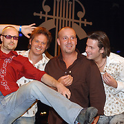 Harpengala 2003, Gouden Harp winnaar, Blof, Norman Bonink, pascal jakobsen, Peter Slager, Bas Kennis