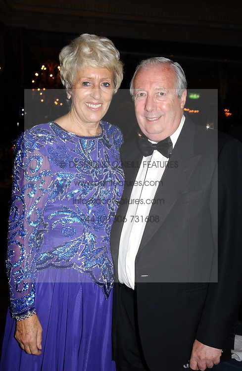 LORD HARRIS OF PECKHAM and his wife DAME PAULINE HARRIS at the Dyslexia Awards Dinner 2004 held at The Dorchester, Park Lane, London on 2nd November 2004.<br /><br />NON EXCLUSIVE - WORLD RIGHTS