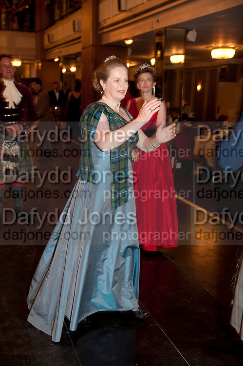 The Royal Caledonian Ball 2011. In aid of the Royal Caledonian Ball Trust. Grosvenor House. London. W1. 13 May 2011.<br /> <br />  , -DO NOT ARCHIVE-© Copyright Photograph by Dafydd Jones. 248 Clapham Rd. London SW9 0PZ. Tel 0207 820 0771. www.dafjones.com.