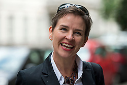 © Licensed to London News Pictures. 06/06/2015. London, UK.  Mary Creagh arriving at the venue. Current Labour Leadership candidates attend a debate at the Fabien Society Conference, held at the institute of Education in London. Photo credit: Ben Cawthra/LNP
