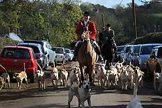 NOV 01 2014 The Start of the Hunt Season - New Forest Hunt