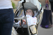 25.MAY.2011. PARIS<br /> <br /> 90210 STAR SARA FOSTER AND WIFE OF GERMAN TENNIS PLAYER TOMMY HAAS WITH HER BABY OUT AND ABOUT IN PARIS, FRANCE.<br /> <br /> BYLINE: EDBIMAGEARCHIVE.COM<br /> <br /> *THIS IMAGE IS STRICTLY FOR UK NEWSPAPERS AND MAGAZINES ONLY*<br /> *FOR WORLD WIDE SALES AND WEB USE PLEASE CONTACT EDBIMAGEARCHIVE - 0208 954 5968*