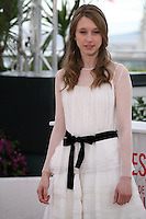 Georgia Rock, .at the Bling Ring film photocall at the Cannes Film Festival 16th May 2013. The Bling Ring is directed by Sofia Coppola and in Un Certain Regard category of the festival.