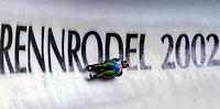 Aking - Rodel 02.01.2002 Altenberg, Deutschland<br />Vorschaubild zur kommenden Rennrodel Europameisterschaft 2002 vom 07.01.2002 bis zum 13.01.2002 im Altenberg <br />Foto: ROBERT MICHAEL/Digitalsport