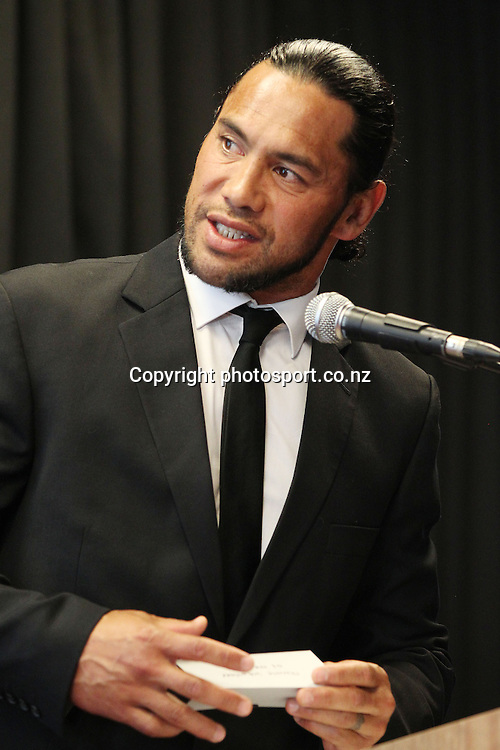 Ruben Wiki at the 2012 New Zealand Rugby League Awards at Westpac House, Britomart, Auckland Wednesday, November 7