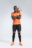 **EXCLUSIVE**Portrait of Ecuadorian soccer player Jaime Ayovi of Beijing Renhe F.C. for the 2018 Chinese Football Association Super League, in Shanghai, China, 24 February 2018.