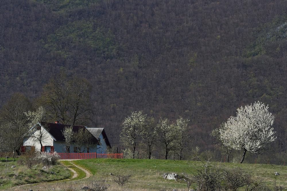 Farmstead, Udbina hunting concession, Velebit mountains Nature Park, Croatia