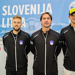 20151027: SLO, Tennis - Davis Cup Slovenia vs Lithuania, Press conference