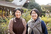 Kyoko Shinohara and her sister
