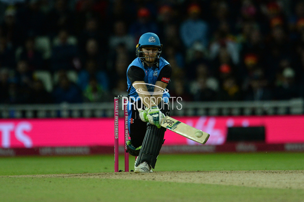 Ben Cox of Worcestershire Rapids batting during the final of the Vitality T20 Finals Day 2018 match between Worcestershire Rapids and Sussex Sharks at Edgbaston, Birmingham, United Kingdom on 15 September 2018.