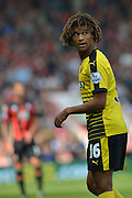 Watford FC defender Nathan Ake during the Barclays Premier League match between Bournemouth and Watford at the Goldsands Stadium, Bournemouth, England on 3 October 2015. Photo by Mark Davies.