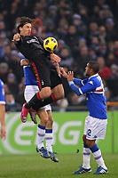 FOOTBALL - ITALIAN CHAMPIONSHIP 2010/2011 - SAMPDORIA GENES v MILAN AC - 27/11/2010 - PHOTO : MAURICIO DI CIUCCIO / PENTASPORTS / DPPI - zlatan ibrahimovic (MIL)