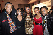 l to r: Rev. Al Sharpton, Rachel Nederlinger, Dominque Sharpe, Robyn Kearse and Cozi Rolle at the Common Celebration Capsule Line Launch with Softwear by Microsoft at Skylight Studios on December 3, 2008 in New York City..Microsoft celebrates the launch of a limited-edition capsule collection of SOFTWEAR by Microsoft graphic tees designed by Common. The t-shirt  designs. inspired by the 1980's when both Microsoft and and Hip Hop really came of age, include iconography that depicts shared principles of the technology company and the Hip Hop Star.