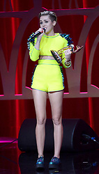 Miley Cyrus performs on stage at the Bambi Awards 2013 at Stage Theatre in Berlin, Germany, Thursday, 14th November 2013. Picture by  Schneider-Press / i-Images<br /> UK & USA ONLY