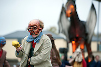 "26/10/2014 The Macnas parade Symphony for the restless"" took over Galway for a spectacular event that scared and thrilled young and old. Photo:Andrew Downes"