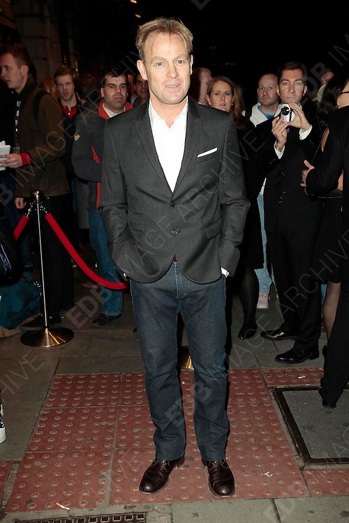 14.OCTOBER.2010. LONDON<br /> <br /> JASON DONOVAN ATTENDS FLASHDANCE THE MUSICAL AT THE SHAFTESBURY THEATRE.<br /> <br /> BYLINE: EDBIMAGEARCHIVE.COM<br /> <br /> *THIS IMAGE IS STRICTLY FOR UK NEWSPAPERS AND MAGAZINES ONLY*<br /> *FOR WORLD WIDE SALES AND WEB USE PLEASE CONTACT EDBIMAGEARCHIVE - 0208 954 5968*