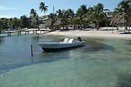 Boat, Ambergris Caye, Belize