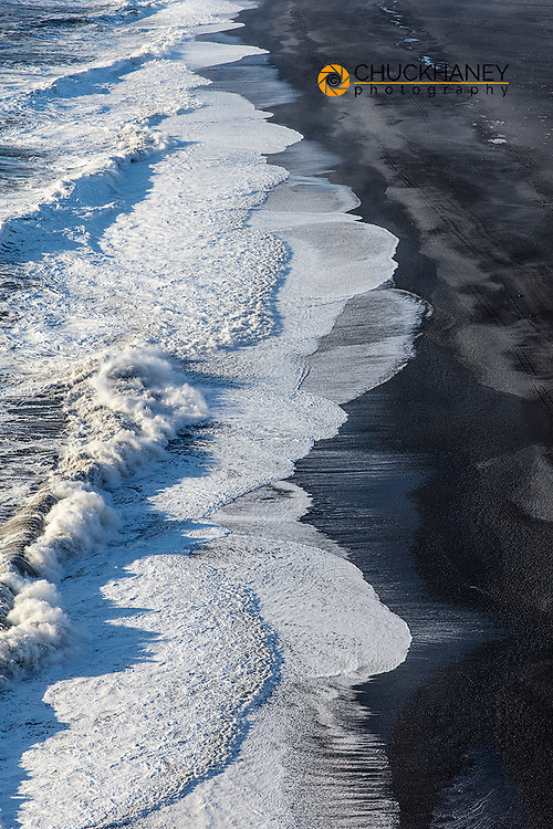 Black sand beach near Vik, Iceland