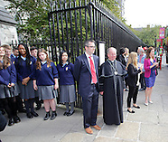 President Higgins Visit to Saint Patirck's Cathedral