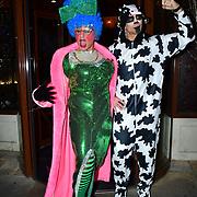 Simon Gross, Alex Reid star of Jack And His Giant Bigstalk - press night, at Karma Sanctum Soho on 16th December 2019, London, UK.