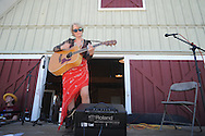 "Wendy Garrison plays guitar during St. Peter's Episcopal Church's ""Fun in the Country"" in Oxford, Miss. on Monday, September 6, 2010."