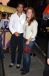 MR EDWARD & LADY TAMARA VAN CUTSEM at a party to celebrate the opening of the new Lotus store at 11 Pont Street, London SW1 on 13th September 2005.<br /><br />NON EXCLUSIVE - WORLD RIGHTS