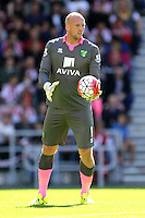 Norwich City goalkeeper John Ruddy