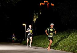 Bostjan Urankar at 10th Nocna 10ka 2016, traditional run around Bled's lake, on July 09, 2016 in Bled,  Slovenia. Photo by Vid Ponikvar / Sportida